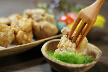 Leaf Garlic 酢味噌(コク) メイン写真