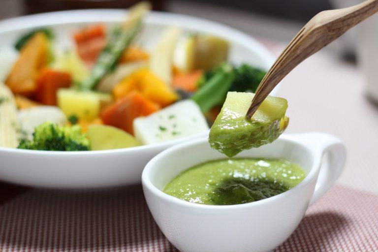 土佐流バーニャカウダ!温野菜を葉にんにくぬたソースで