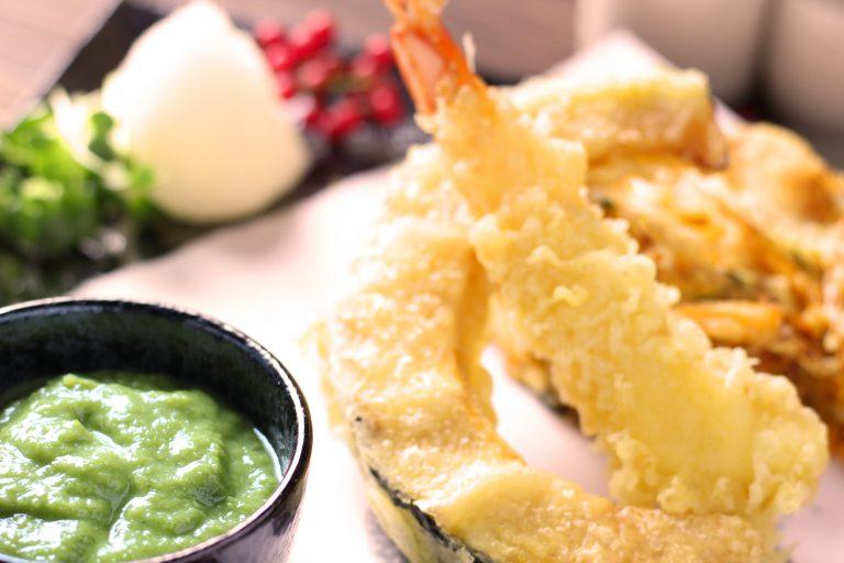 天ぷらと野菜ぬたをあわせて、、、