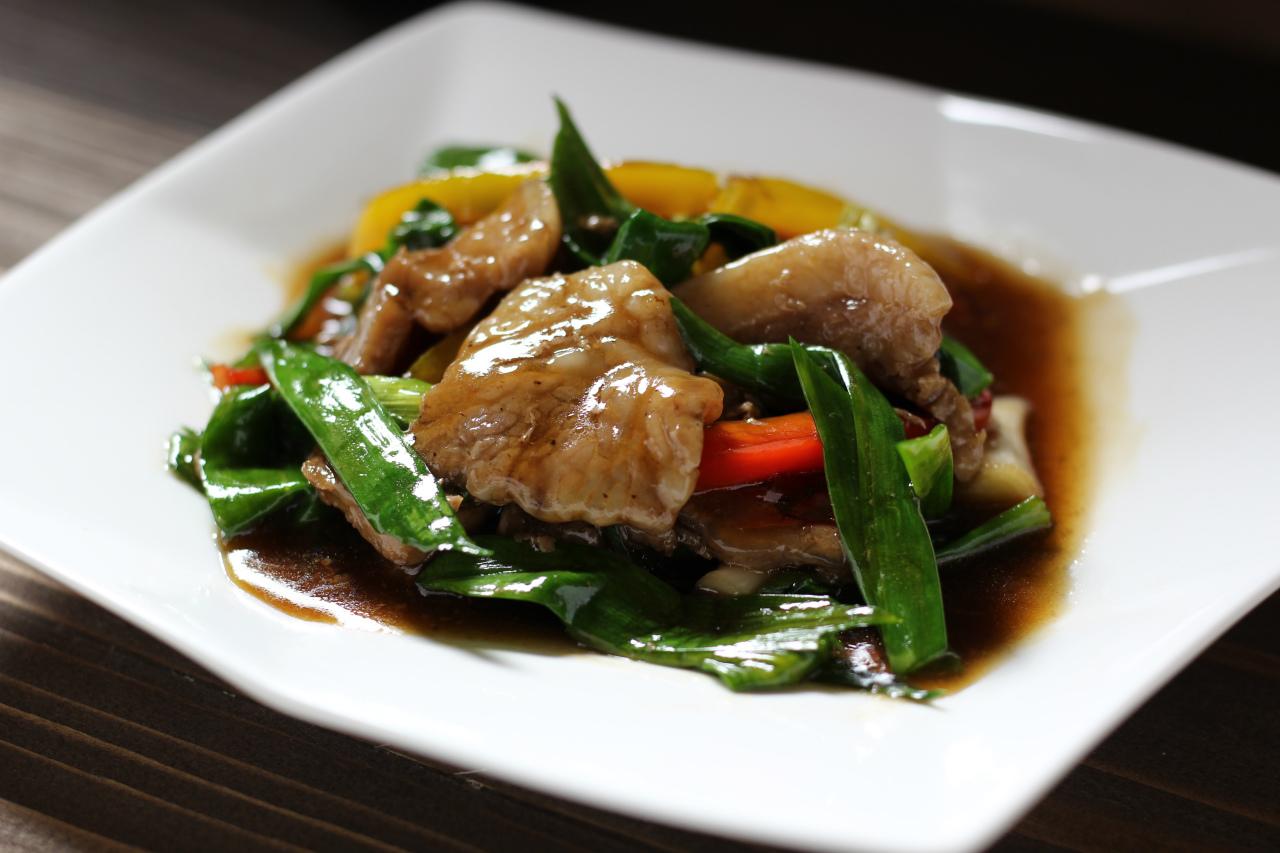 本場中国の葉にんにく回鍋肉