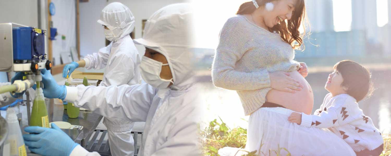 保存料・化学調味料等一切無添加だから、子供や家族にも安心。