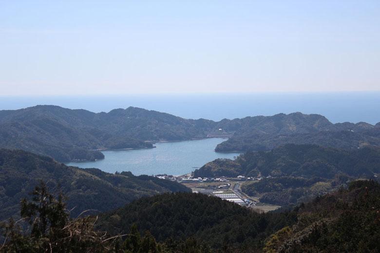 アースエイド裏山からの風景