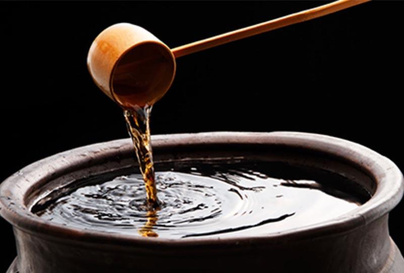 無添加の国産純米酢を使用(有機の葉にんにくで作った無添加のぬた和風酢味噌)